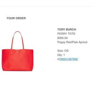 Tory Burch Perry Large Tote! Great condition!